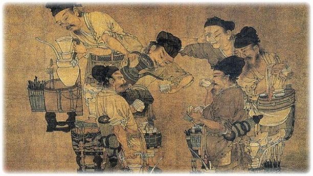 Соревнование на рынке чая. История зеленого чая.