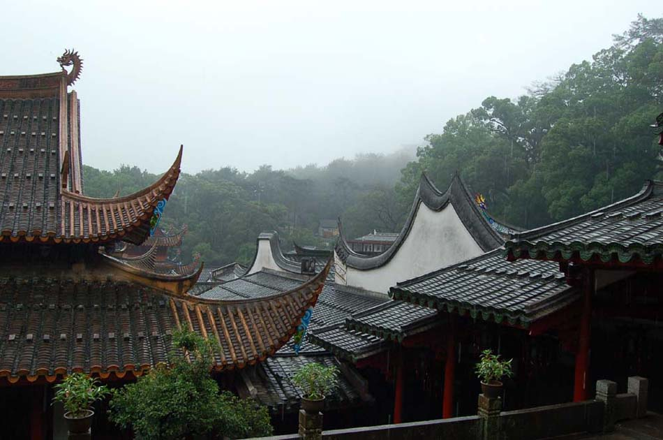 Дождь в Гу Шань  (Провинция Фуцзянь)