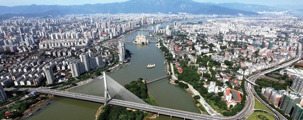 Фучжоу - Удивительный центральный город провинции Фуцзянь.