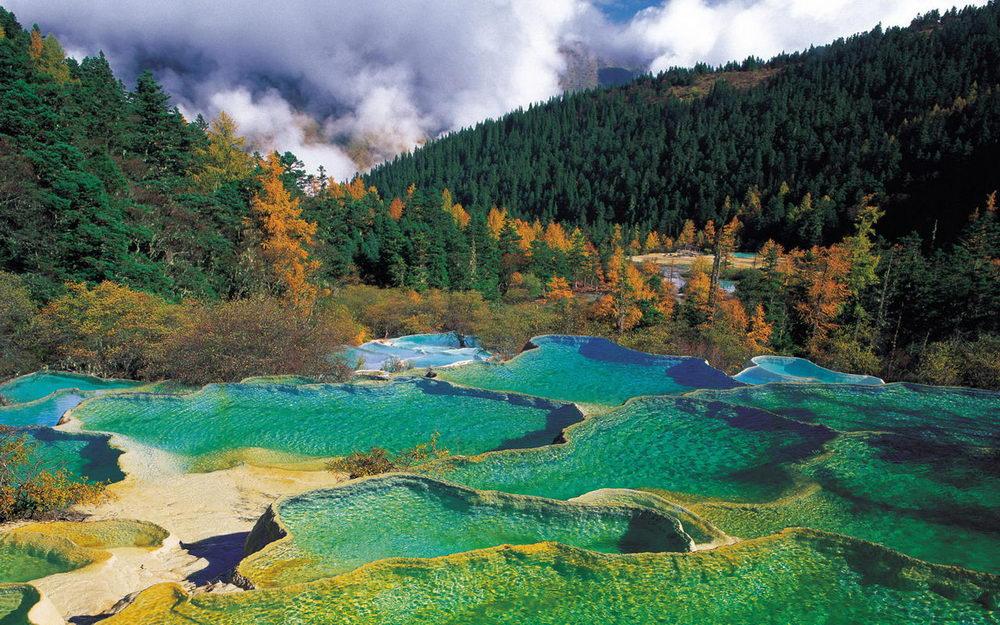 Пейзажная достопримечательная зона Хуанлун