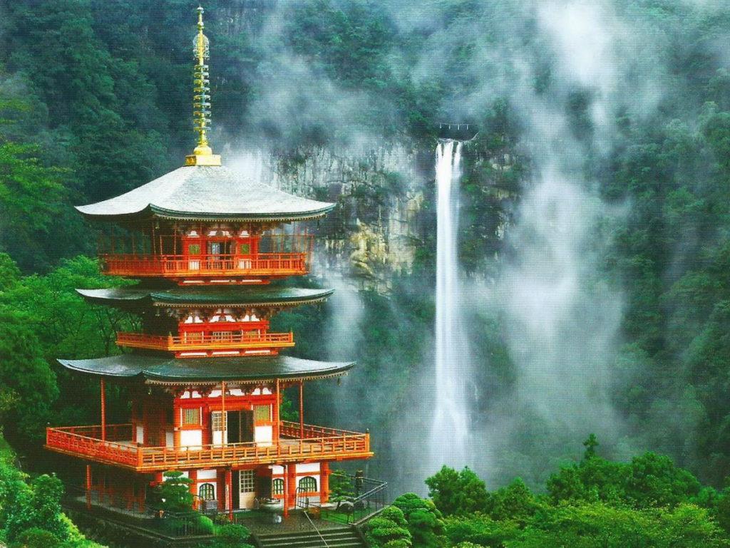 4. Горы Кии (Kii Mountain Range)