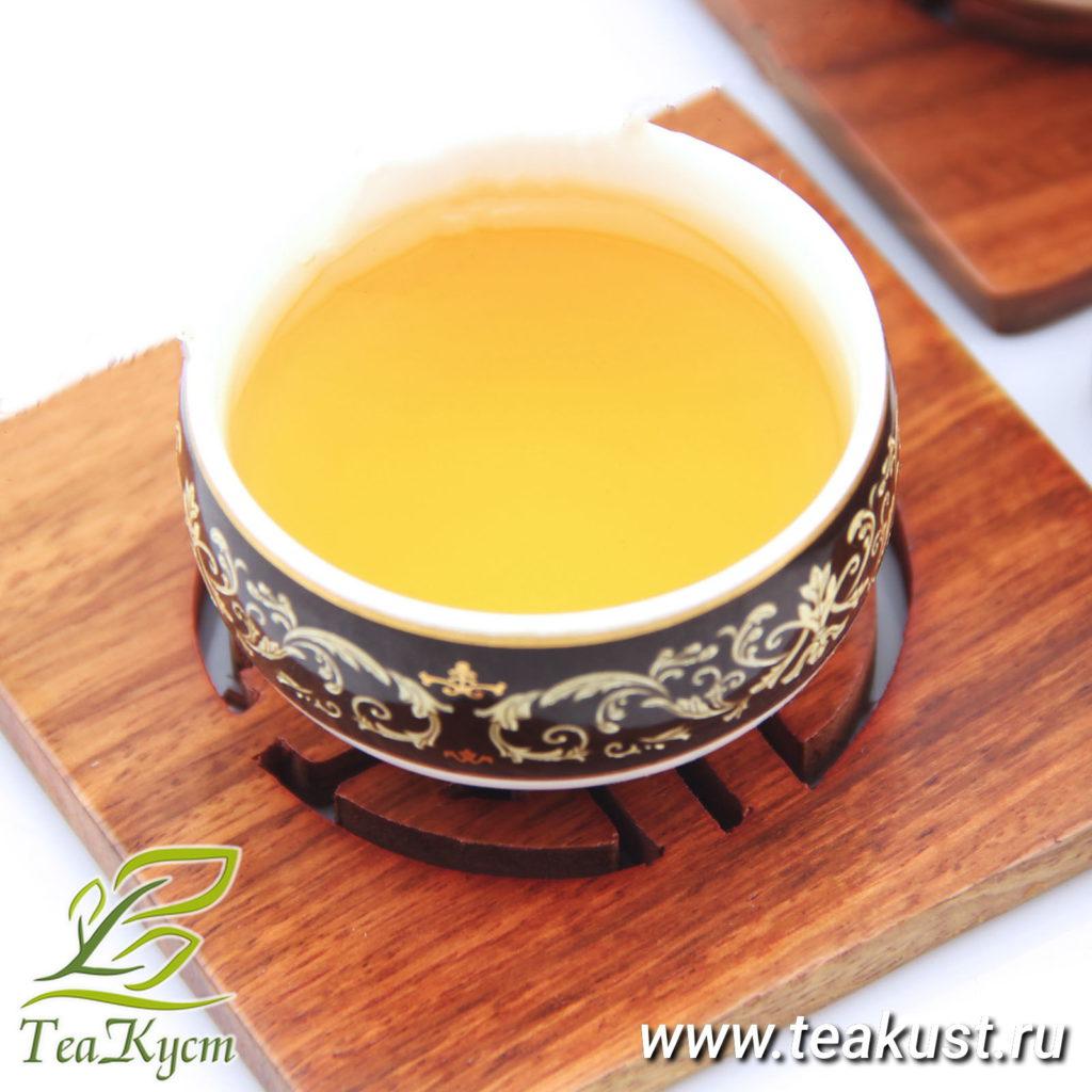 Заваренный чай Почки Пуэра - Белый лунный свет