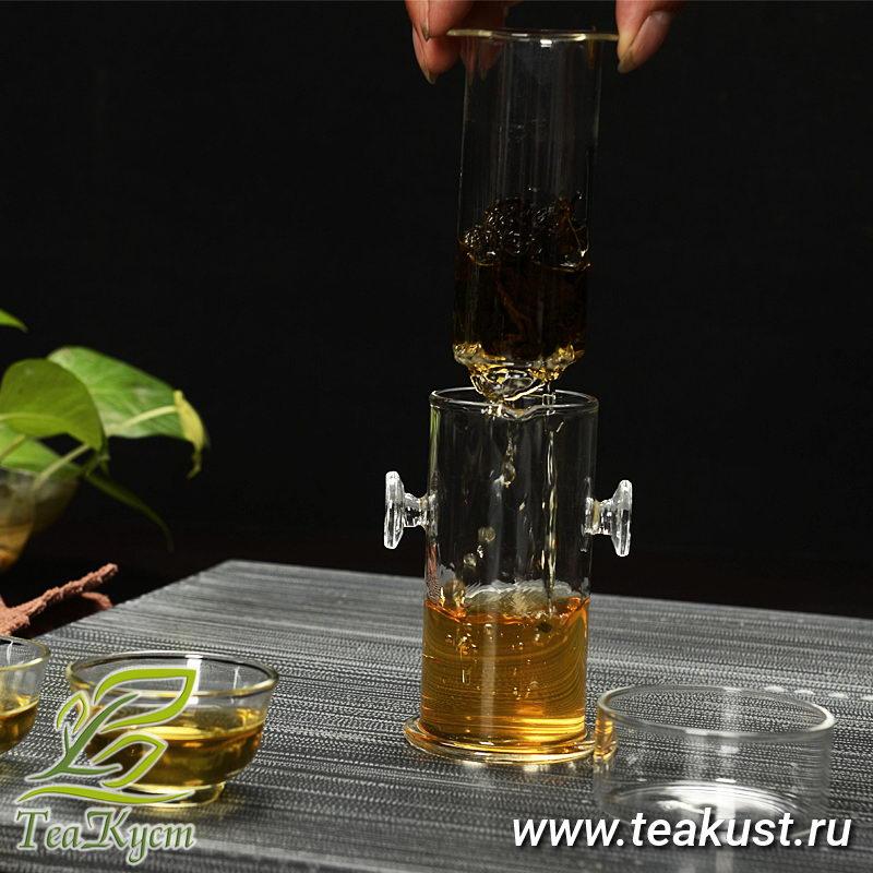 Поднимаем внутреннюю чайную колбу