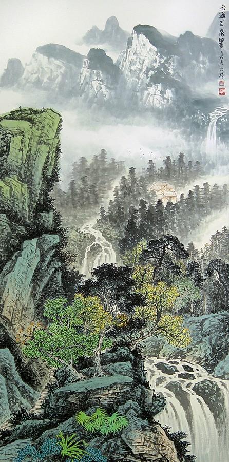 Водопад после дождя