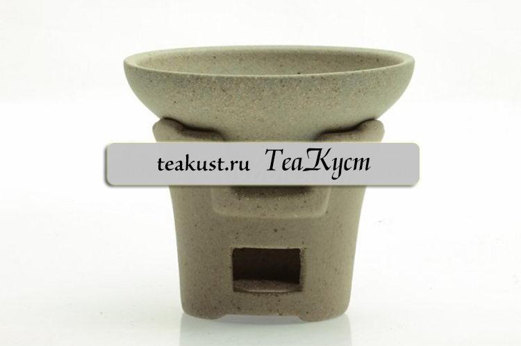 Ситечко из керамики «Каменная плита»