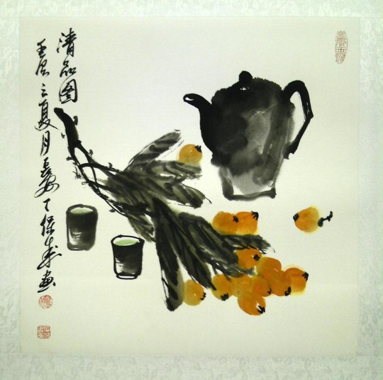 Личи и чай (Дин Баочен)