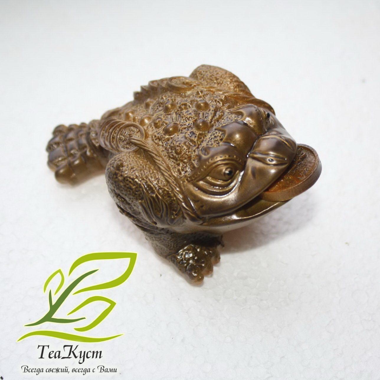 Золотая лягушка - жаба приносящая удачу и богатство - Меняет Цвет!