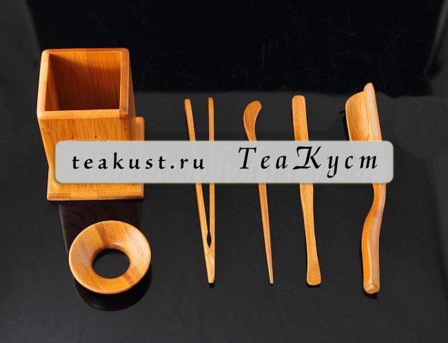Набор Ча Дао из бамбука «Каллиграфия»
