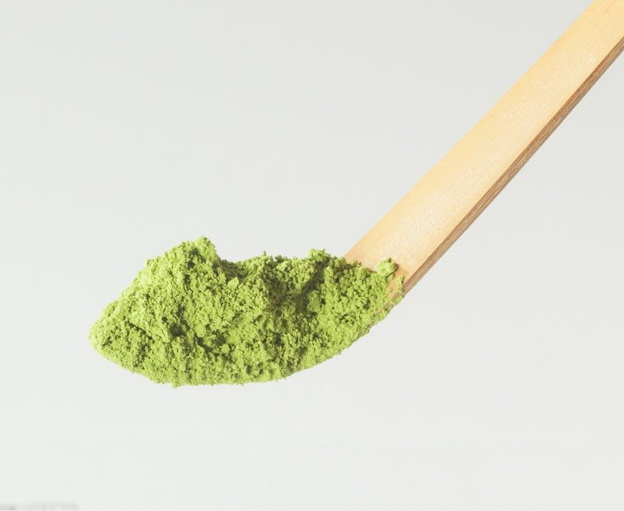 Маття на ложечке (Матча) — Японский порошковый Зелёный чай MQ