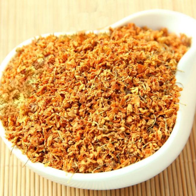 Купить чай из Османтуса (Редчайшие Красные Гуйхуа) - Китайский травяной чай