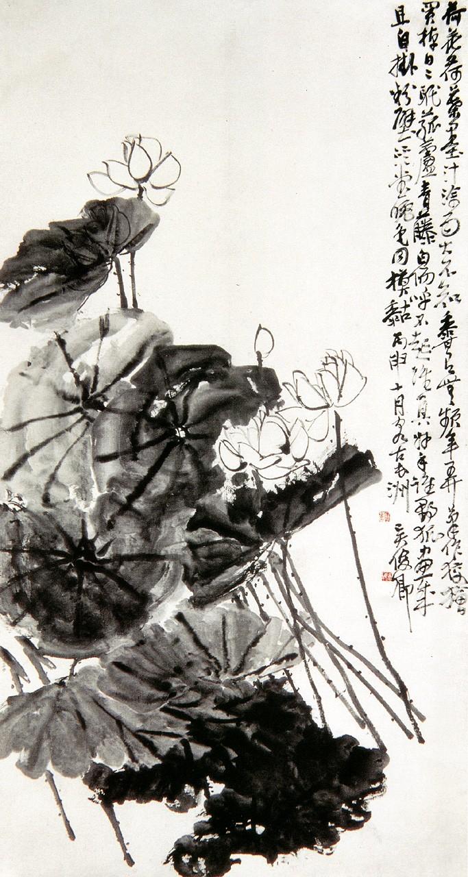 Прекрасная живопись известного художника У Чаншо