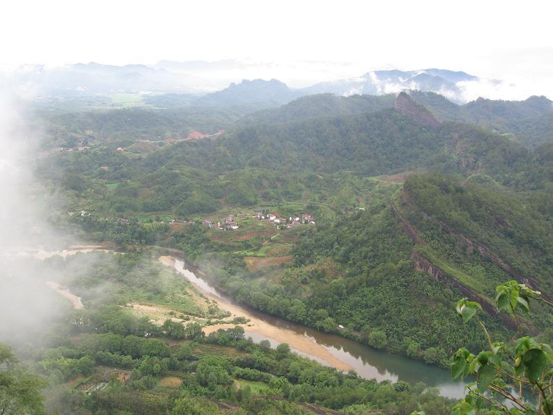 Туманные горы Уишань