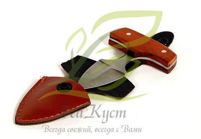 Тычковый нож для пуэра с удобным чехлом..