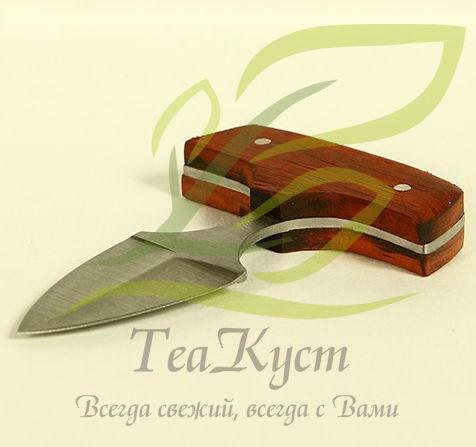 Тычковый нож для пуэра вид сбоку.
