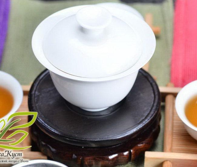 Белая гайвань из Походного набора посуды для Чаепития