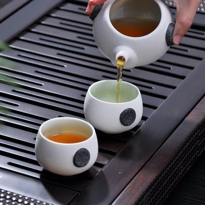 Японская чайная церемония «Тяною» (Снежная Глазурь)