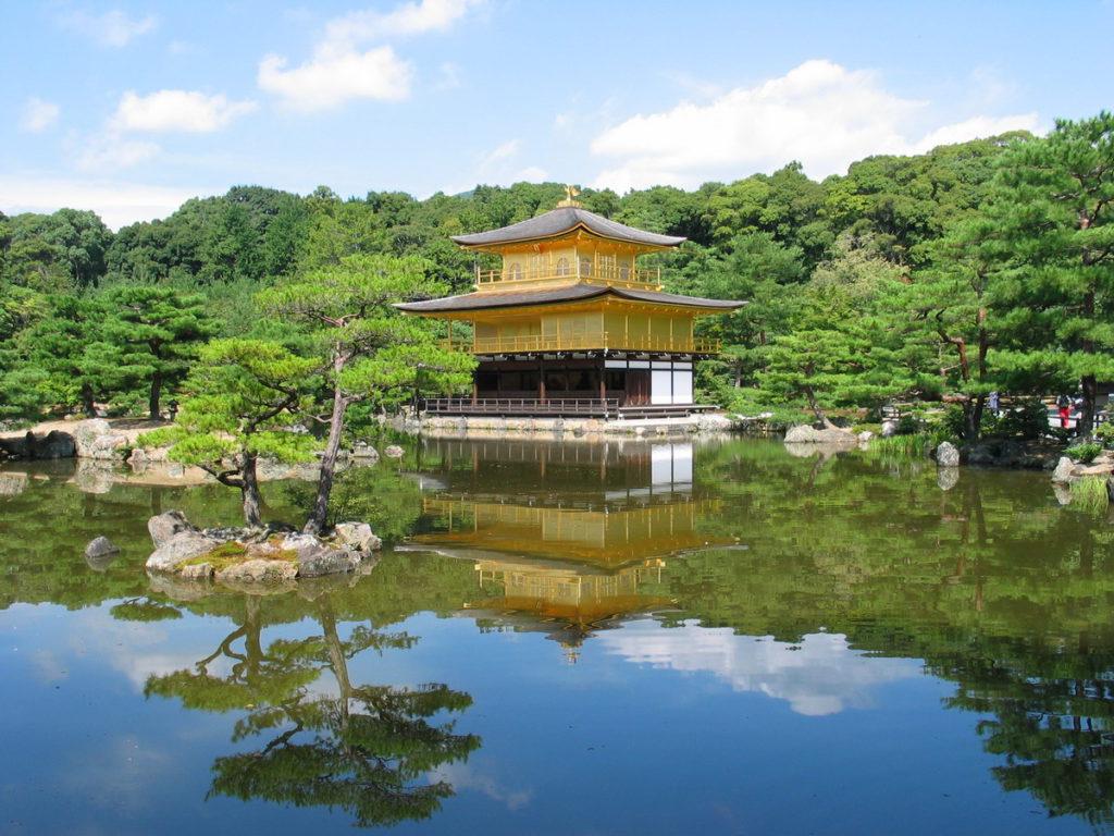 9. Храм Кинкаку-дзи (Kinkaku-ji Temple)