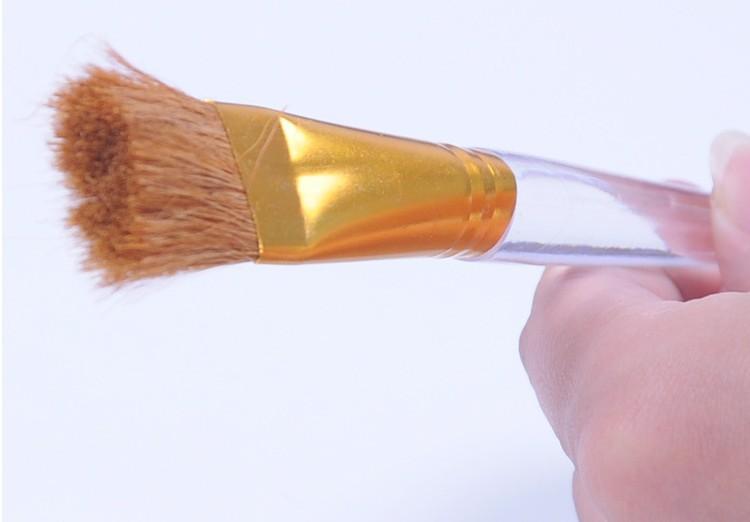 Кисточка с прозрачной ручкой для чайника или доски