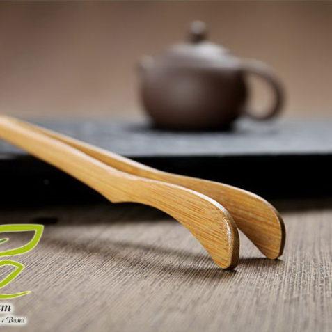 Чайные щипцы - пинцет из бамбука
