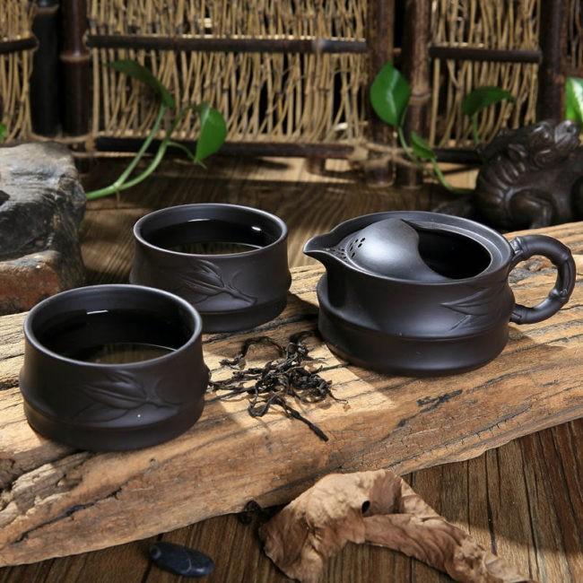 Чайный сервиз «Стебель Бамбука»