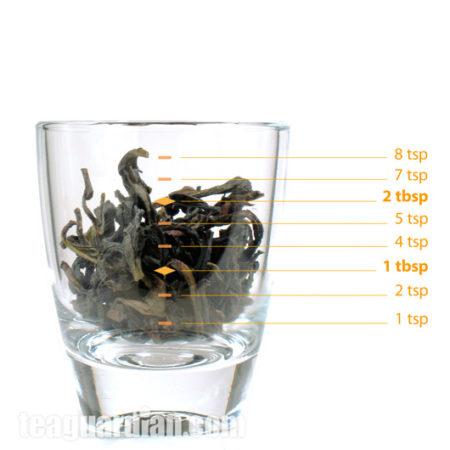 Сколько чая в 3-х граммах в БаСянь.