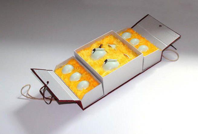 Подарочная коробка сервиза «Нефритовый Император»