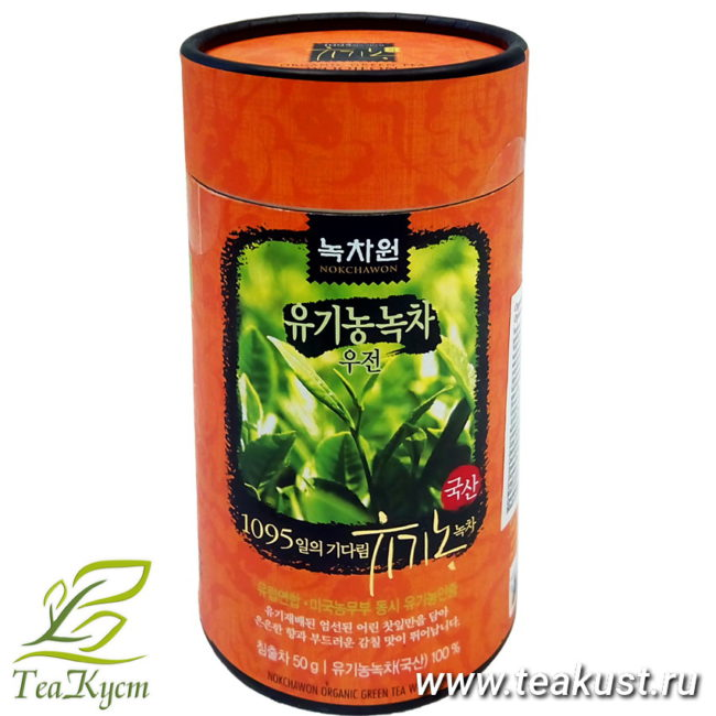 Уджон - Корейский зелёный чай первого сбора EQ