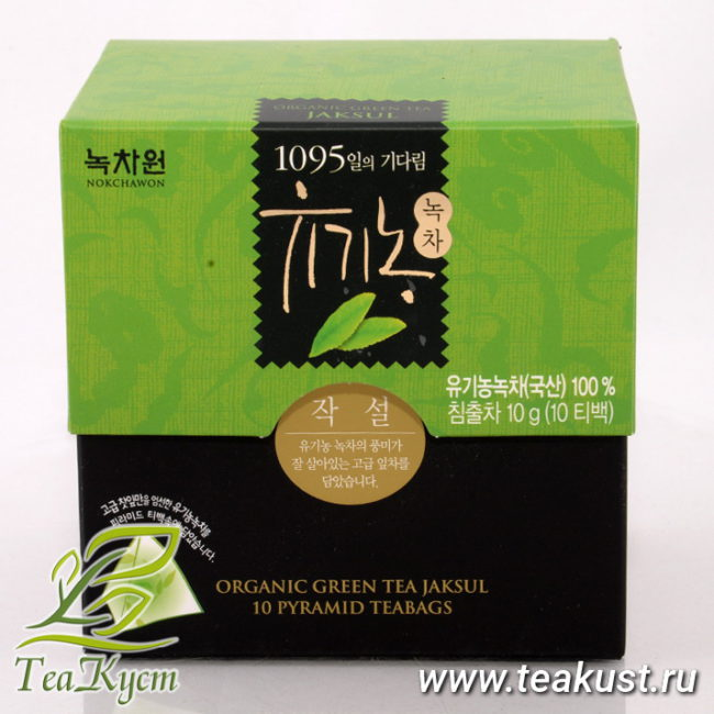 ЧакСоль (Седжак) - Корейский Зелёный чай в пакетиках EQ