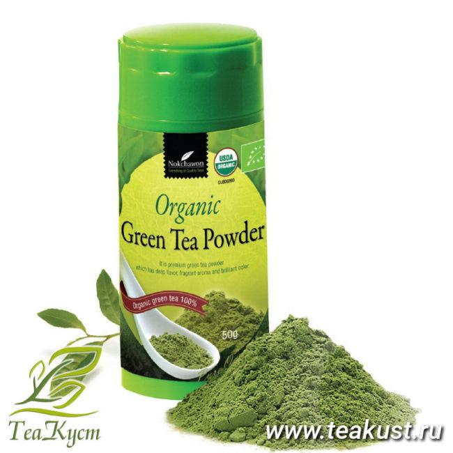 Корейский Матча (Маття) - Порошковый зелёный чай EQ