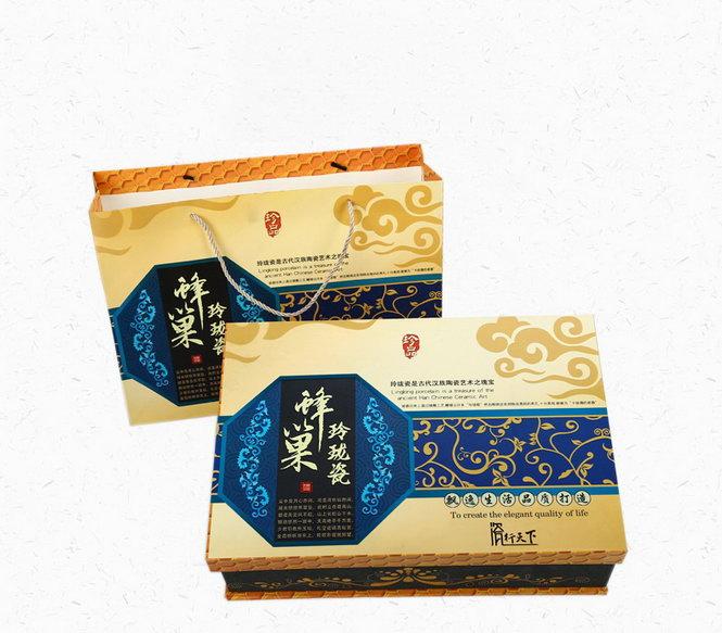 Подарочная коробка сервиза «Медовые соты»