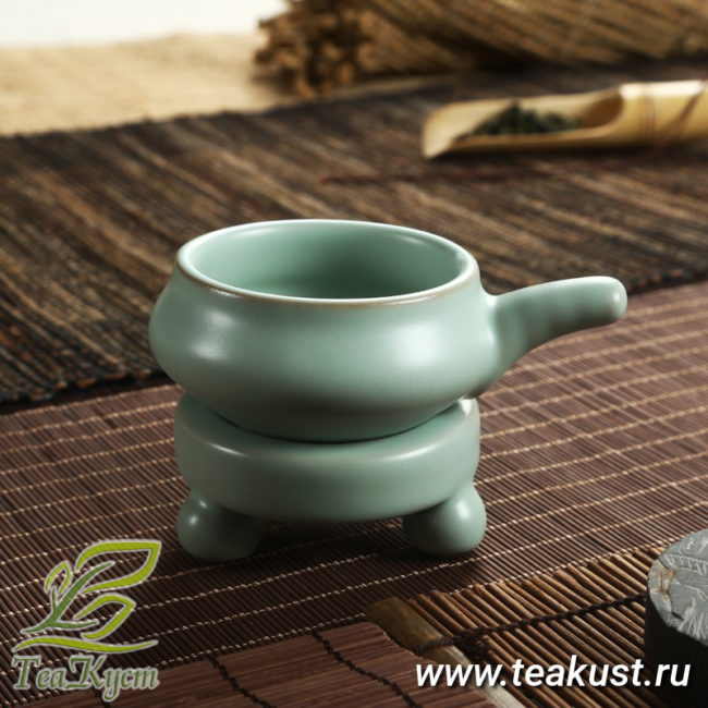 Ситечко для чая из фарфора Жу Яо «Трипод»