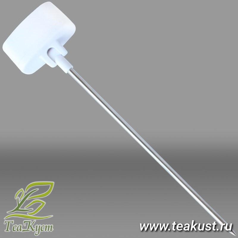 Цифровой термометр Thermo TA-288 вид с торца (зонд повёрнут на 90 градусов)