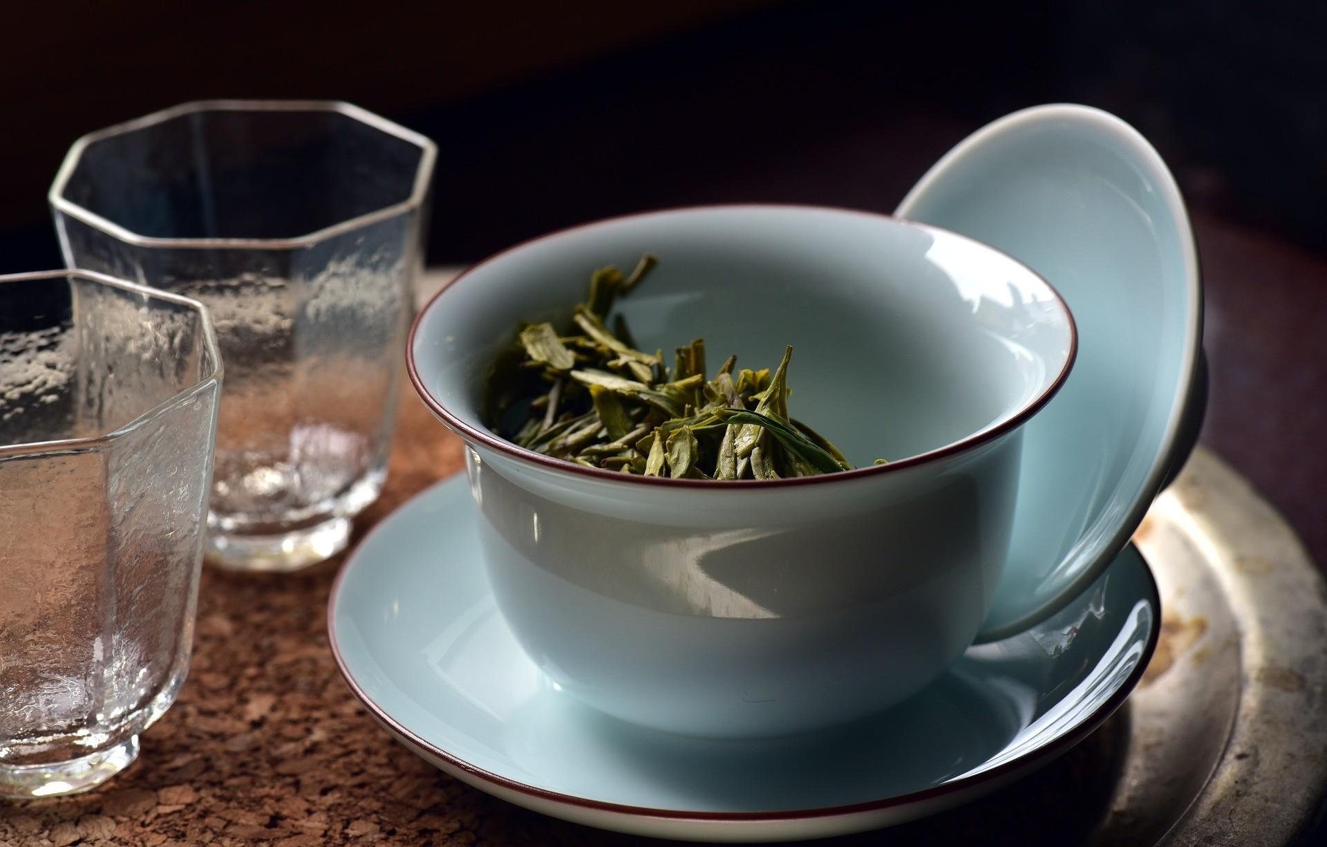 Голубая гайвань для чая