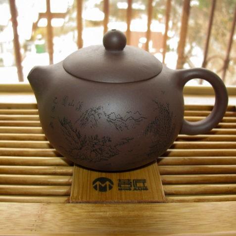 """Чайник из исинской глины Си Ши """"Горы Безмолвия"""""""