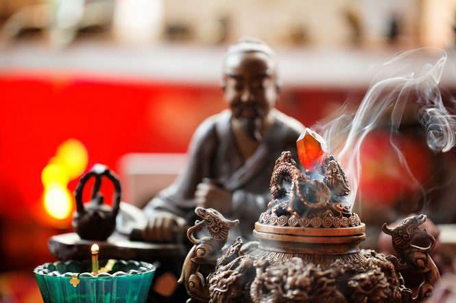 Атмосфера чайной церемонии (Сервиз «Фэншуй»)