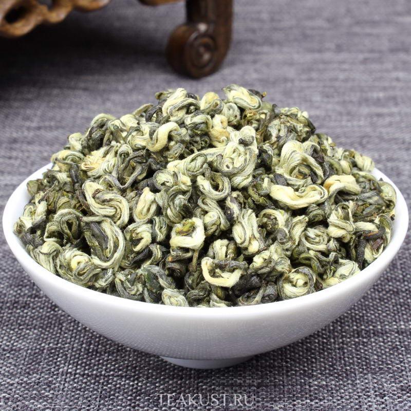 Зелёный чай Юньнань Билочунь